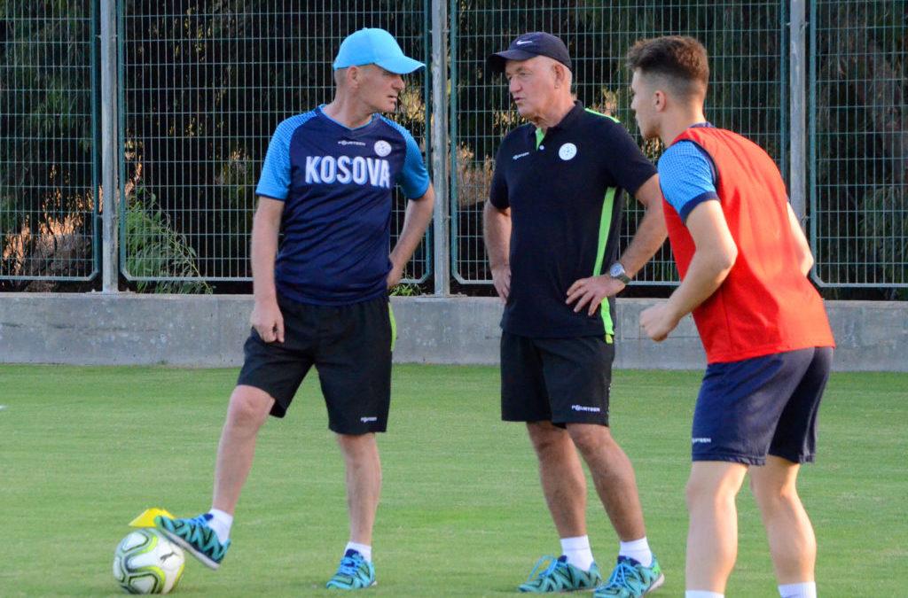 Kombëtarja U21 zhvilloi stërvitjen e parë në Tel Aviv