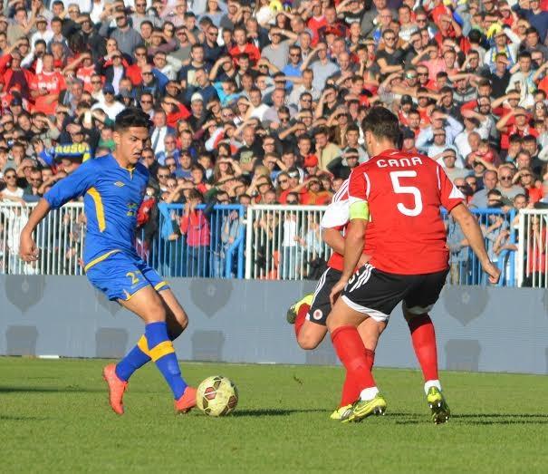 Friendly match between Kosovo and Albania on 11 November
