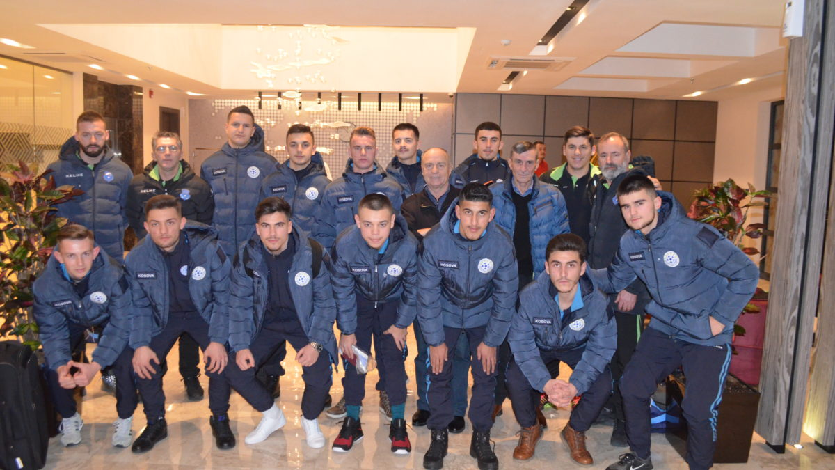 Kombëtarja U-19 në futsall udhëtoi për San Marino