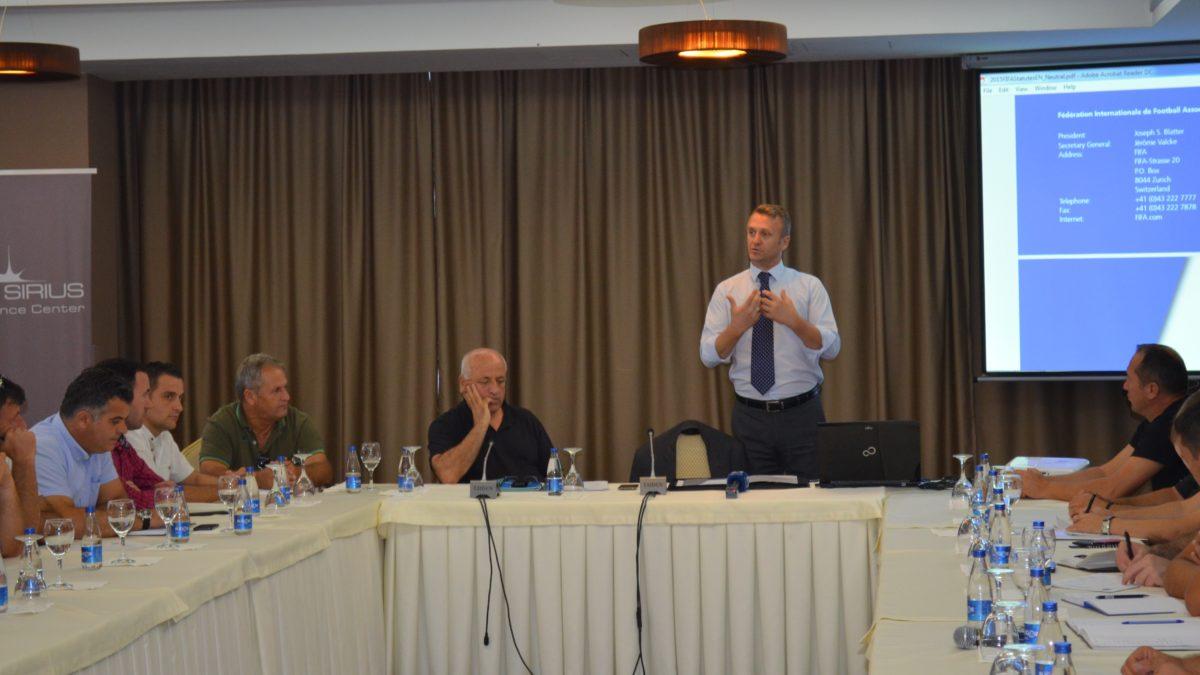 FFK-ja organizon seminar për licencimin e klubeve