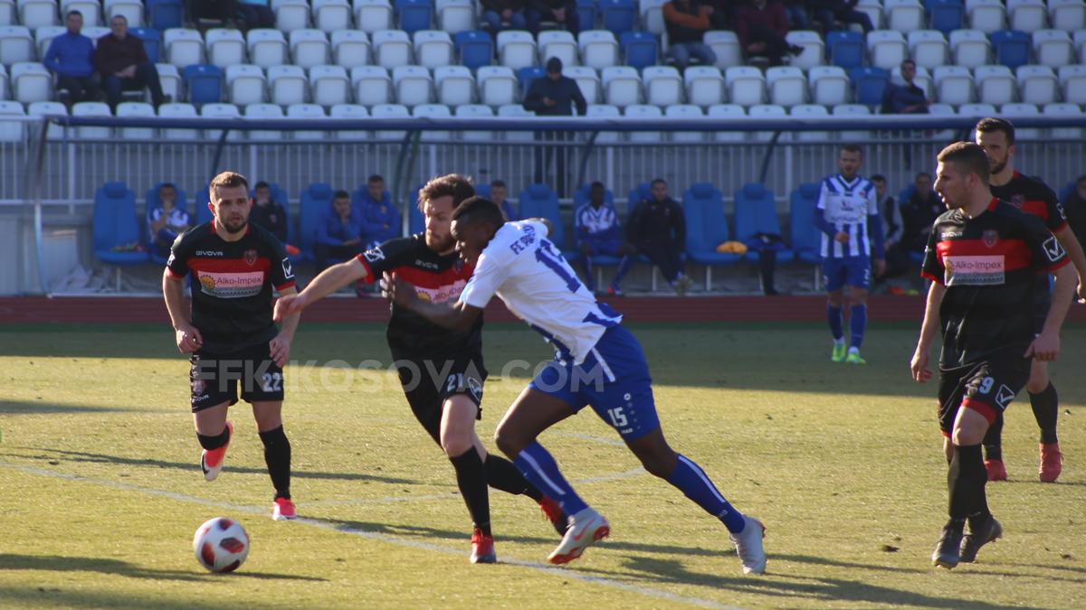 Prishtina fitoi me rezultat bindës kundër Flamurtarit