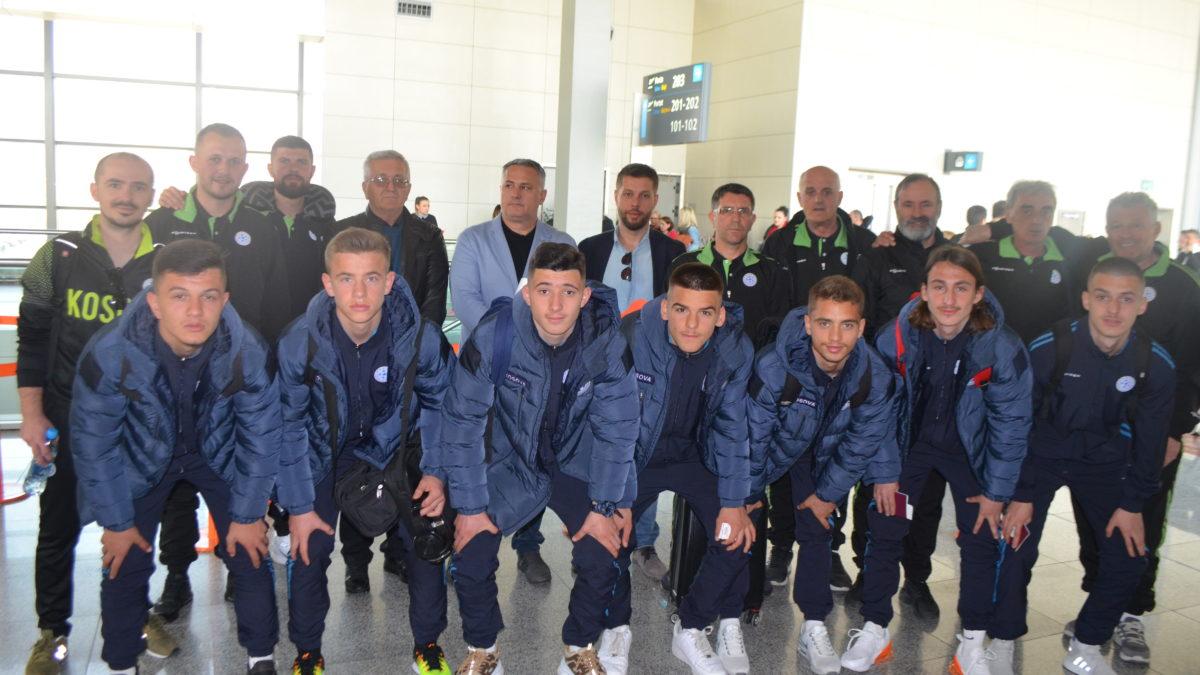 Kombëtarja U17 udhëtoi për në Zvicër