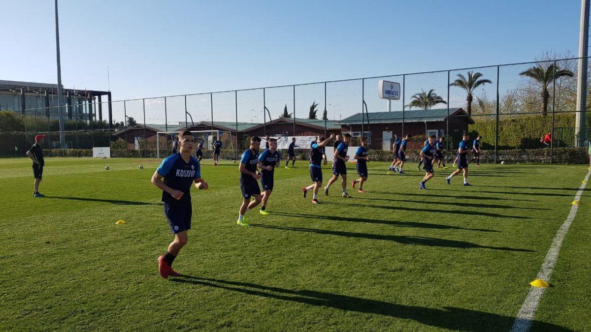 Kombëtarja U21 mbajti stërvitjen e radhës në Antalya