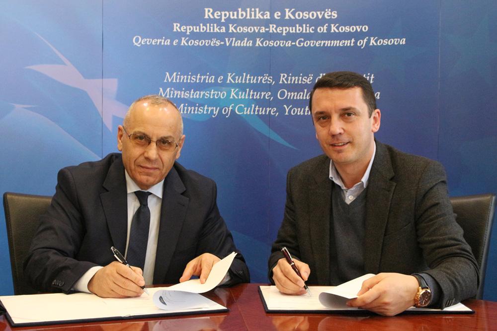 FFK nënshkroi memorandum me MKRS-në