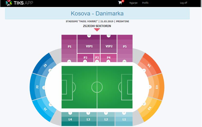 Kosovë – Danimarkë, shitja e biletave po ecën me ritëm shumë të mirë, të hënën nis edhe shitja e biletave për Kosovë – Bullgari