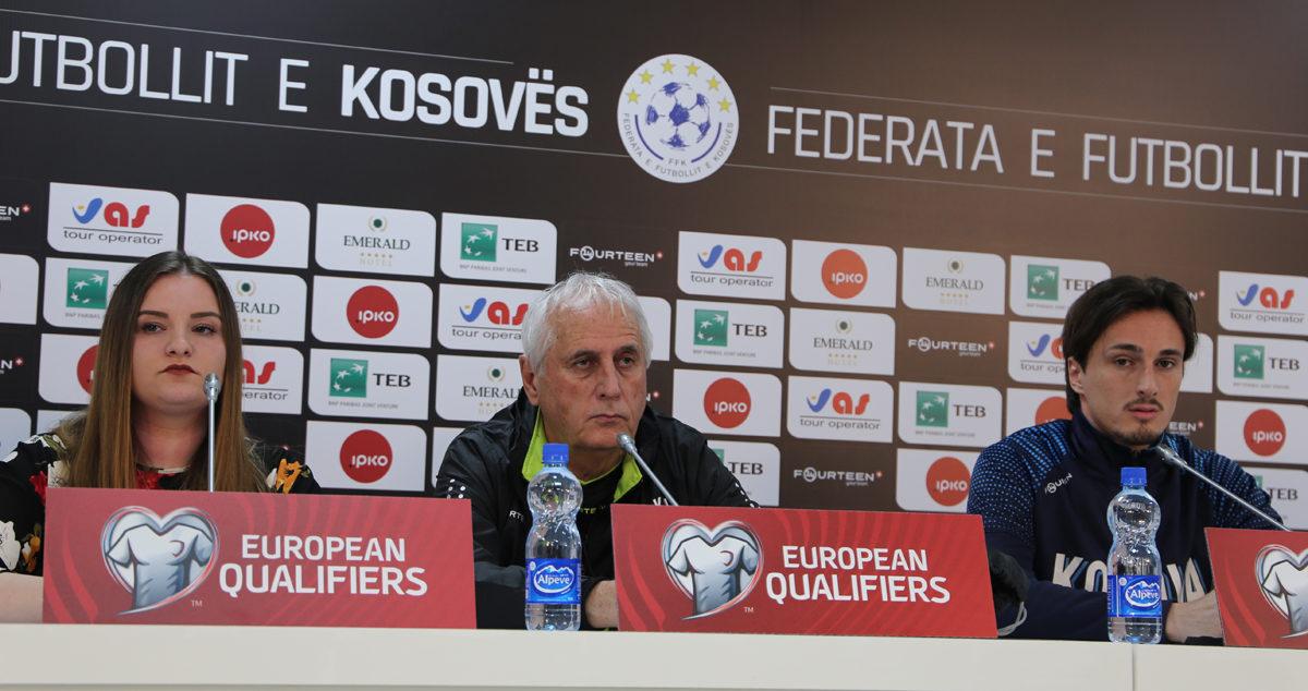 Dardanët të gatshëm për debutimin në kualifikimet për Euro 2020