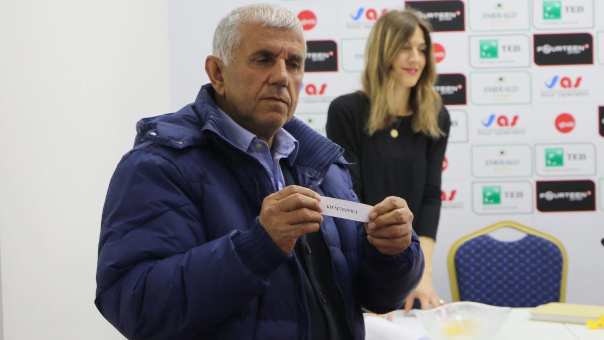 U tërhoq shorti për gjysmëfinale të Kupës së Kosovës