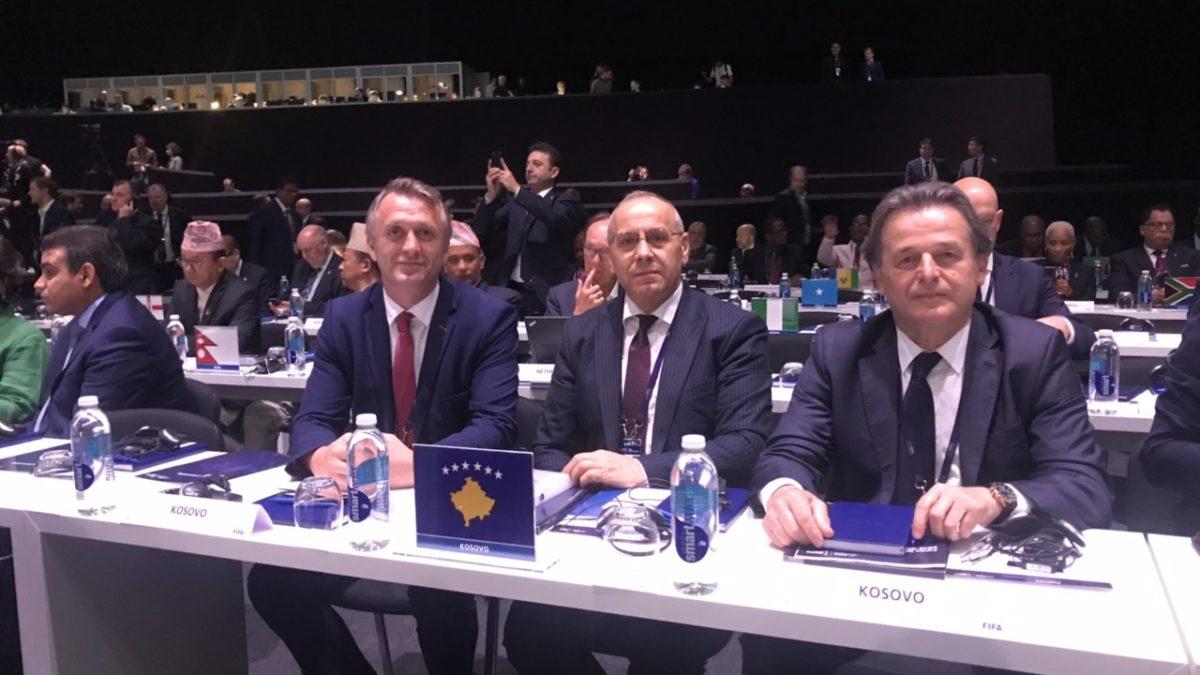 Krerët e FFK-së në Kongresin e 69-të të FIFA-s