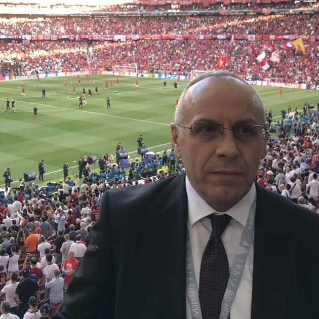 "Presidenti Ademi në finalen e ""Champions""-it"