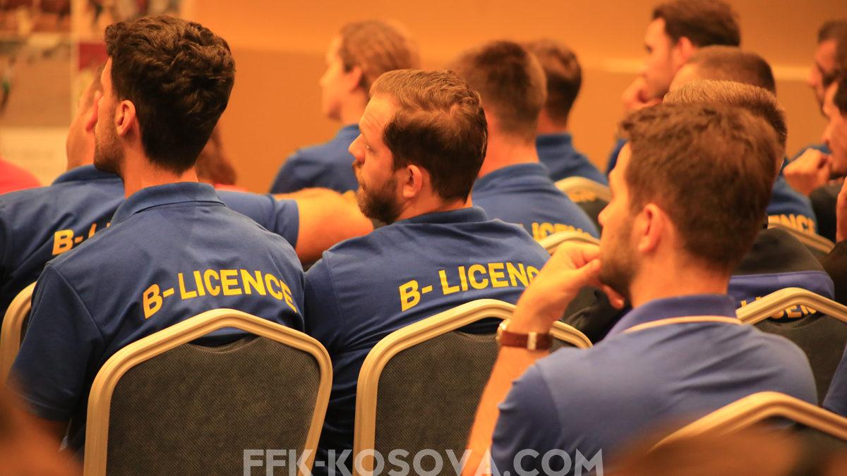 FFK organizon Kursin e trajnerëve për Licencën B