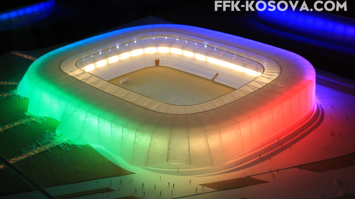 U prezantua projekti i Stadiumit Kombëtar