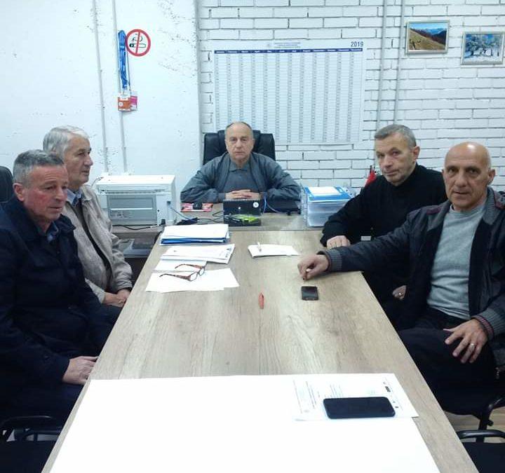LRF e Gjakovës në mbështetje të punës së presidentit Ademi