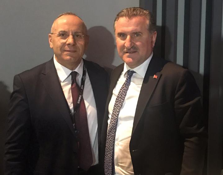 Presidenti Ademi takoi ish-ministrin e sportit të Turqisë