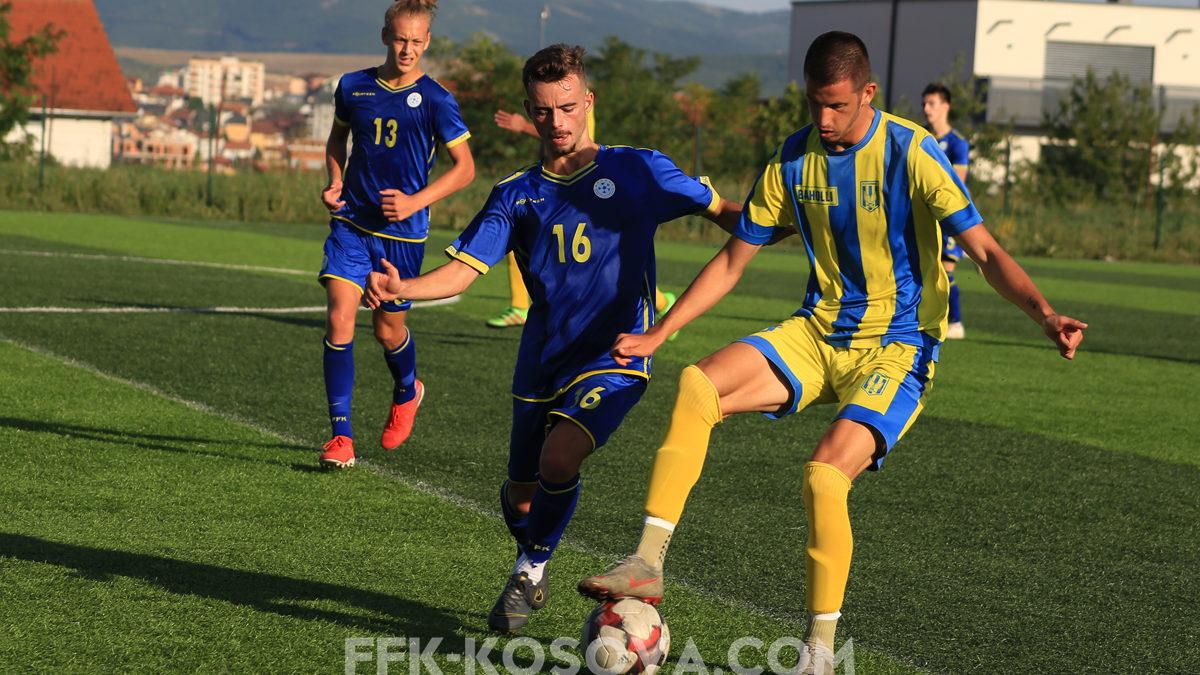 Kombëtarja U19 zhvilloi dy miqësore dhe një stërvitje në grumbullimin treditorë