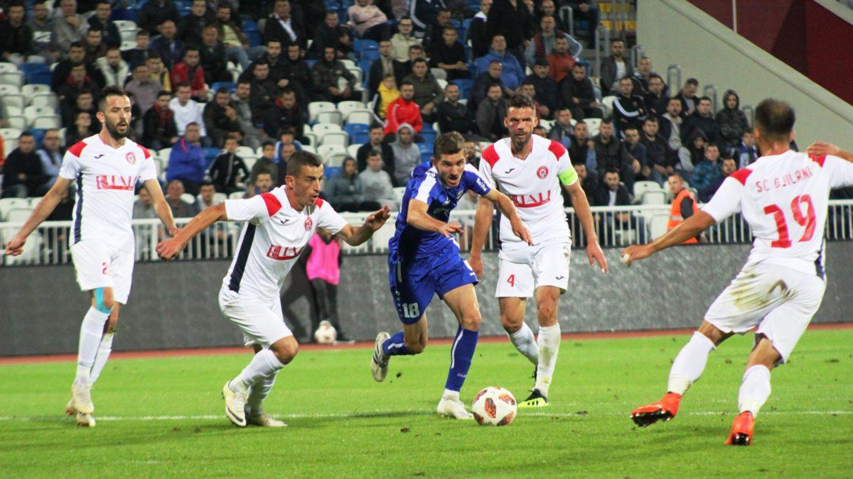 Prishtina fiton përballjen me Gjilanin me gol në minutat shtesë
