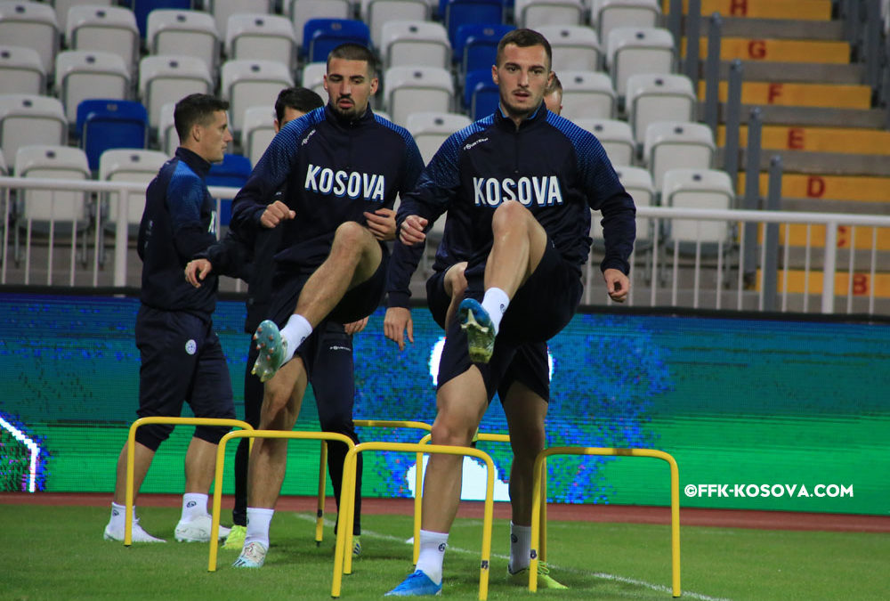 Dardans continue with exercise, Ujkani and Nuhiu optimistic for victory against Montenegro