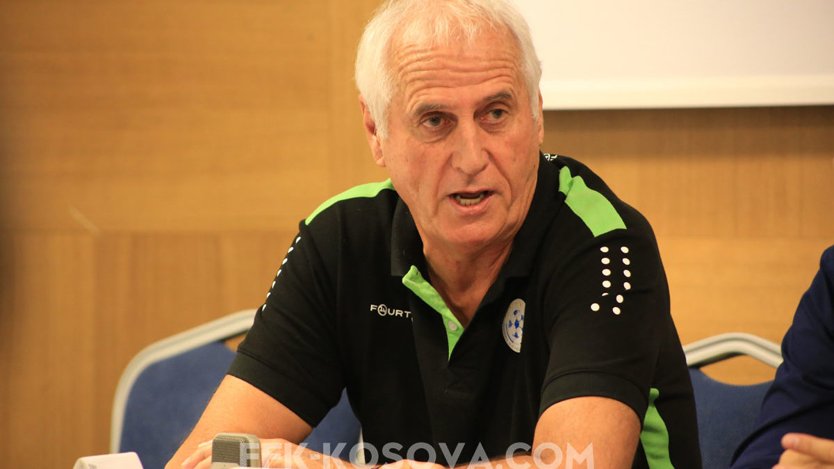 Challandes: We have to defeat Montenegro to continue the dream