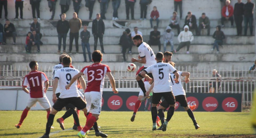 Gjilani and Ballkani equalize in duels with Drenica and Trepça'89