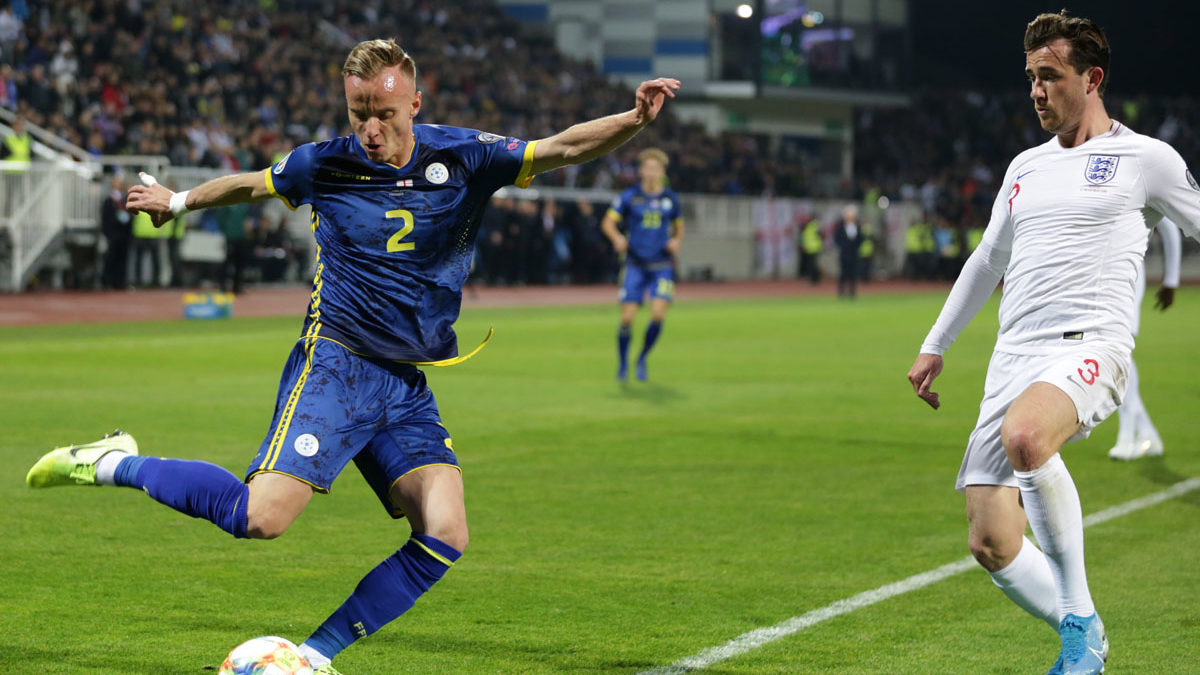 Kosovo loses Euro 2020 qualifiers, England warmly welcomed at Fadil Vokrri  