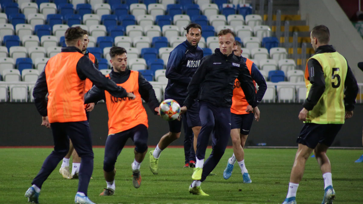 Dardans hold last training in Prishtina, Rashica and Aliti optimistic for a win in Czech Republic