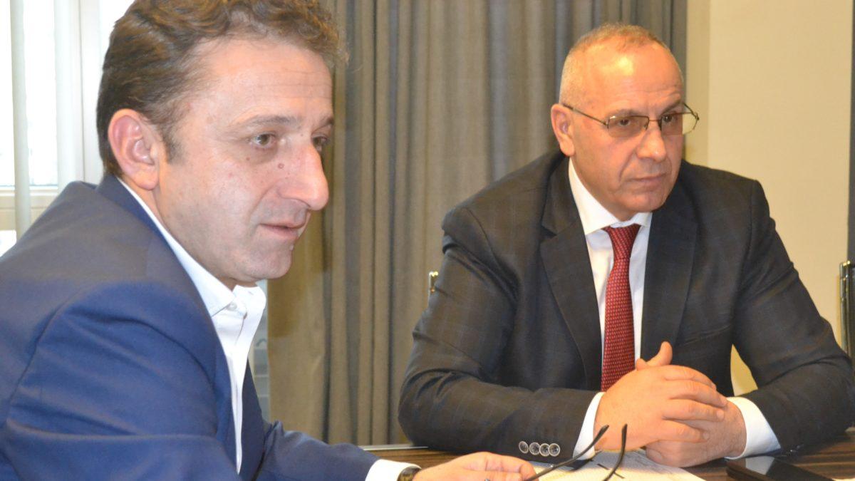 President Ademi meets his counterpart Muhamed Sejdini