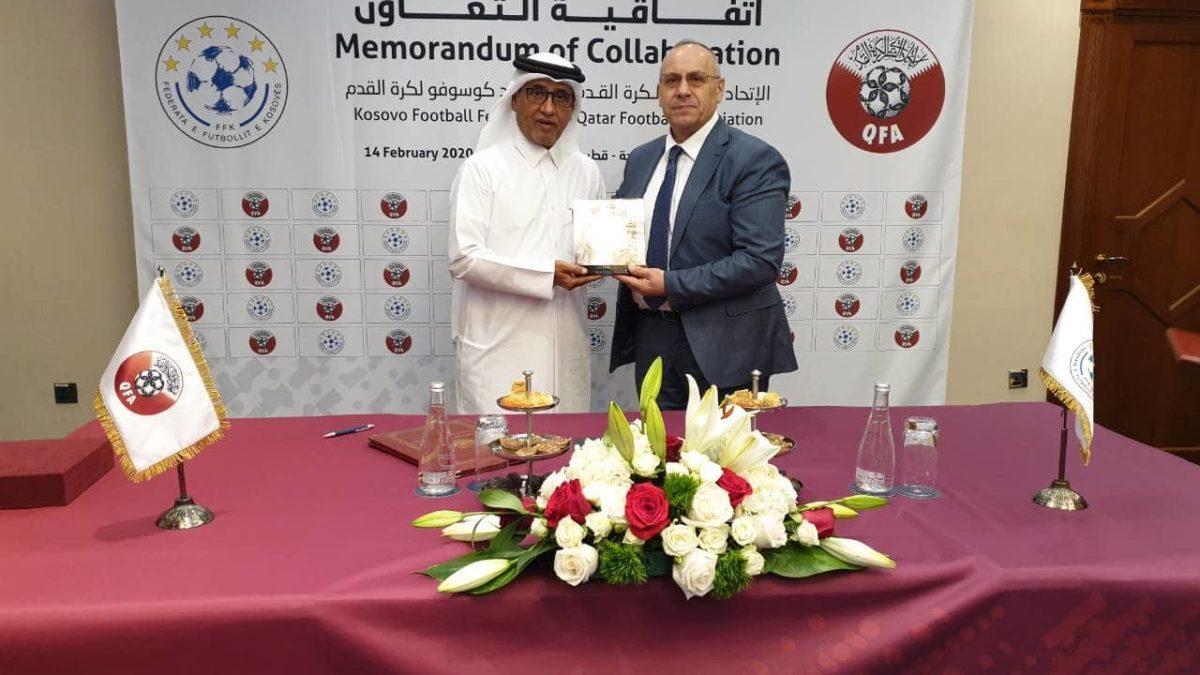 FFK and Qatar Football Federation sign a memorandum of cooperation
