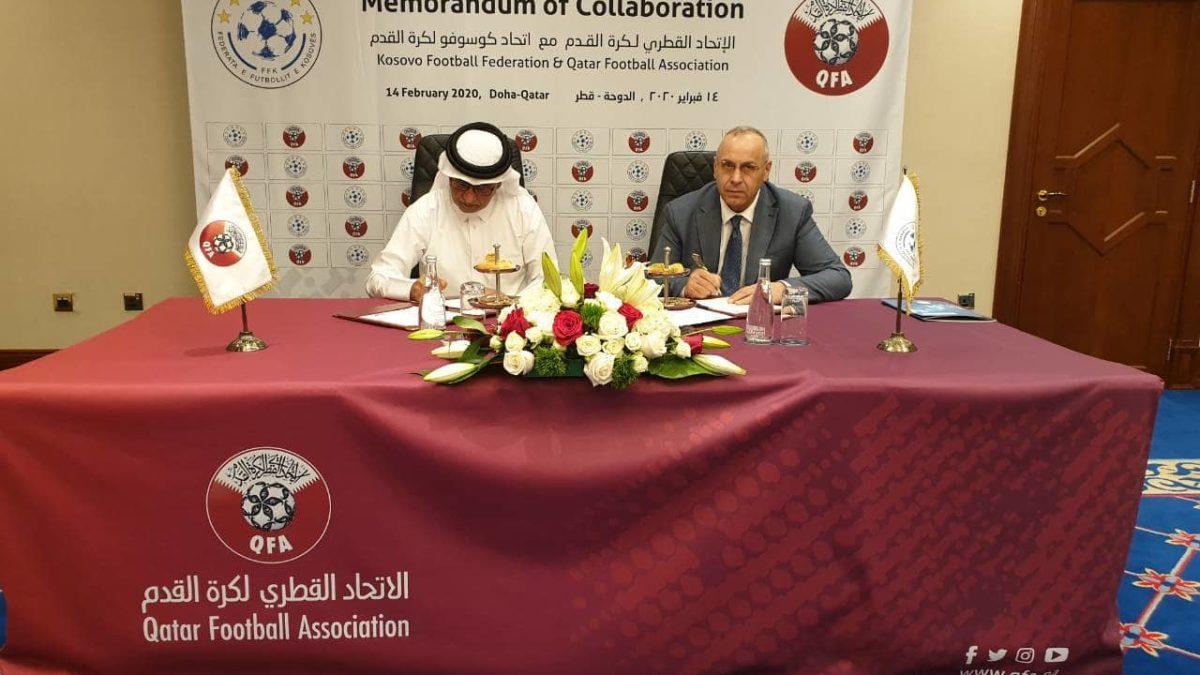 U nënshkrua memorandumi i bashkëpunimit ndërmjet FFK-së dhe FF të Katarit