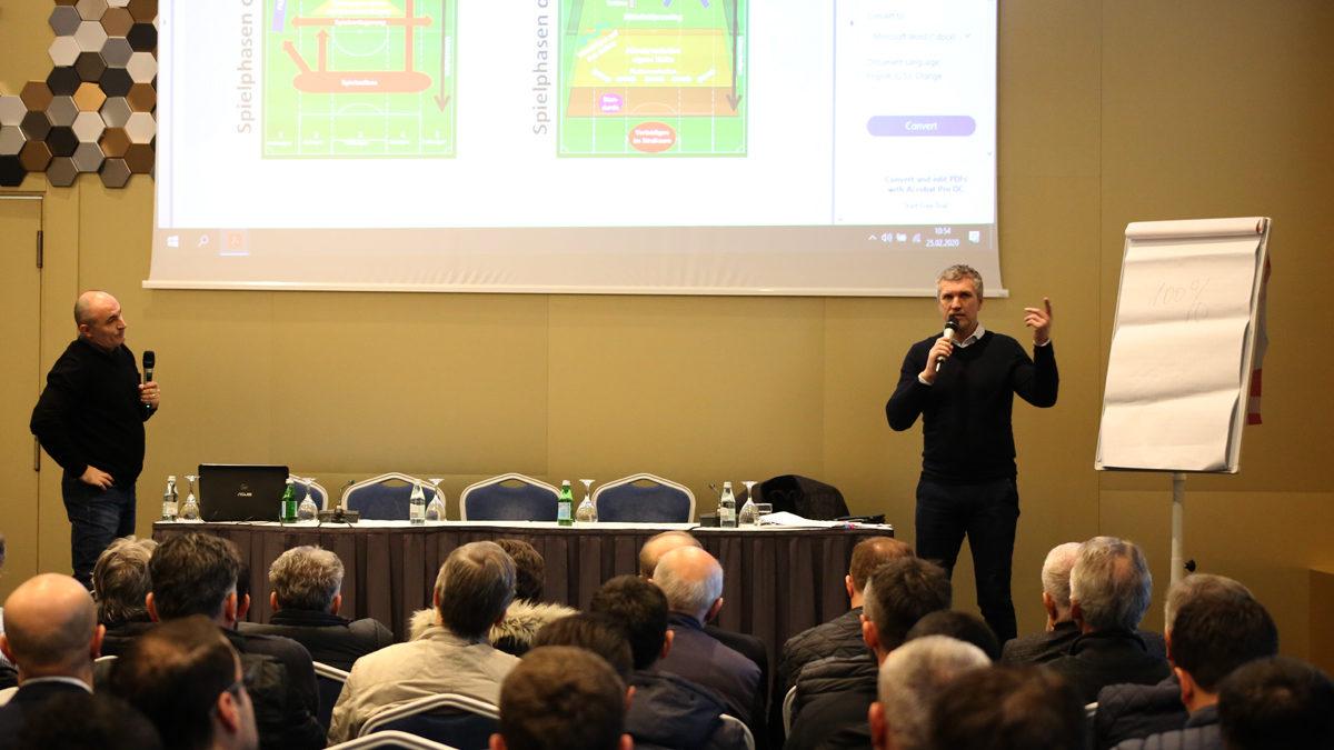 U mbajt seminari për trajnerë me ligjëruesin gjerman Thomas von Heesen