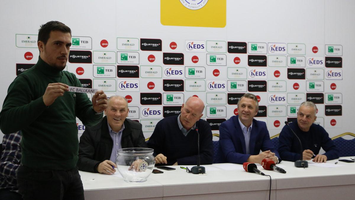 U caktuan çiftet gjysmëfinale të Digitalb Kupës së Kosovës