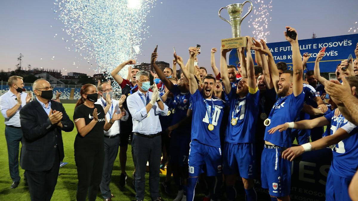 Prishtina fiton Digitalb Kupën e Kosovës dhe siguron pjesëmarrjen në garat evropiane
