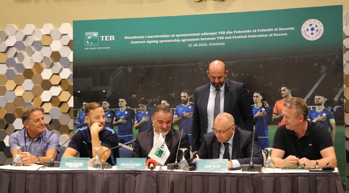 FFK vazhdon partneritetin me bankën TEB edhe për dy vjet