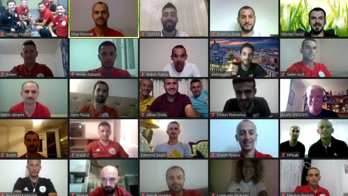 U mbajt seminari online i FIFA-s me gjyqtarët e futbollit