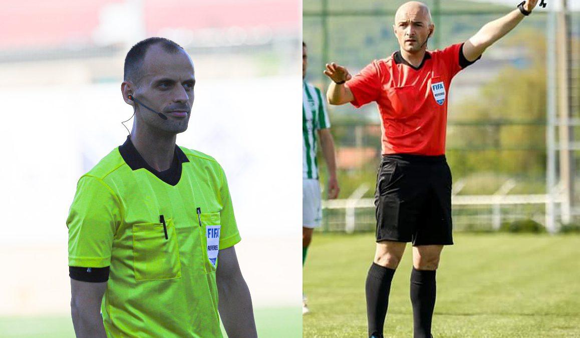 Gjyqtarët Kastrati dhe Kasumi ndajnë drejtësinë në ndeshjet ndërkombëtare