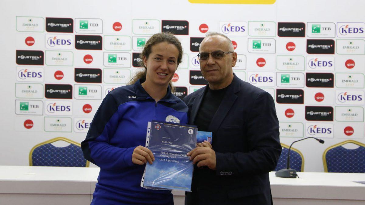 """FFK pjesë e """"UEFA Coaching Convention"""", ndahet""""UEFA Licencë B"""" për 62 trajnerë"""