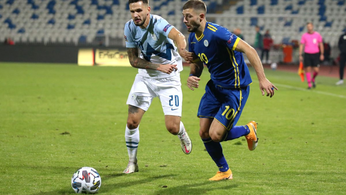 Kosovo suffers losses with a narrow result from Slovenia