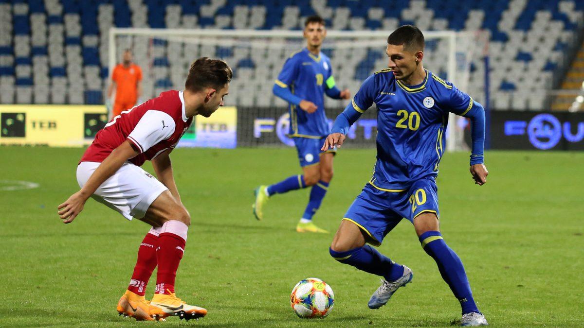Kosova U21 humb me rezultat të ngushtë nga Austria