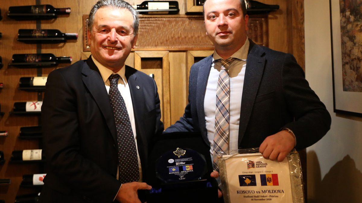 FFK shtroi darkë për krerët e Federatës së Moldavisë
