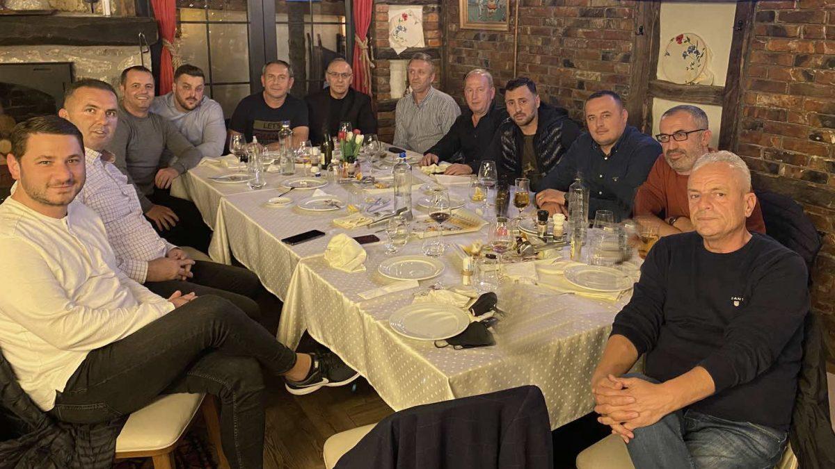 Drejtuesit e FFK-së në takim pune në LRF të Gjilanit