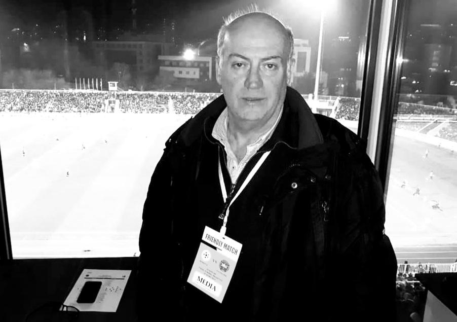Telegram ngushëllimi për ndarjen nga jeta të gazetarit sportiv Avni Shabani