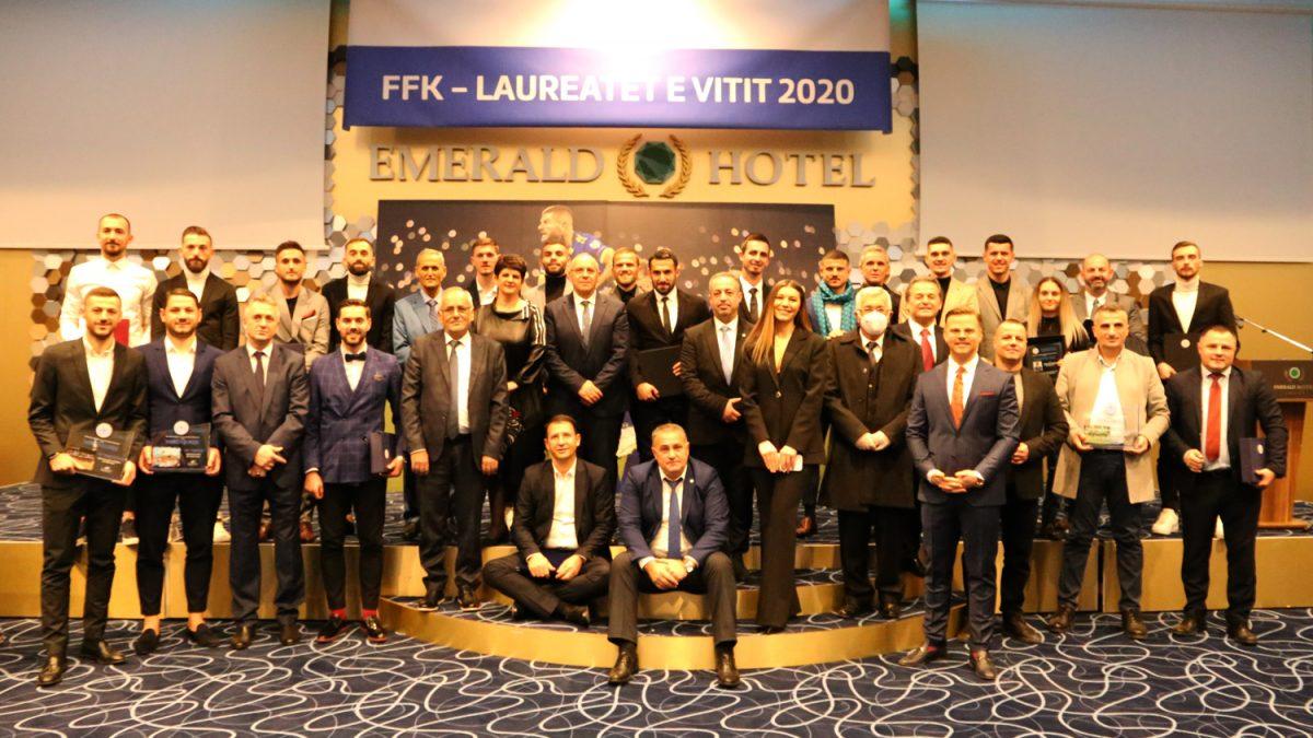 """Mërgim Vojvoda futbollist i vitit 2020 dhe fitues i çmimit """"Fadil Vokrri"""""""