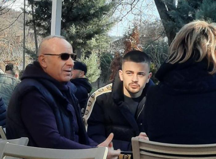 Edon Zhegrova për festa në Kosovë, e viziton edhe Presidentin Ademi