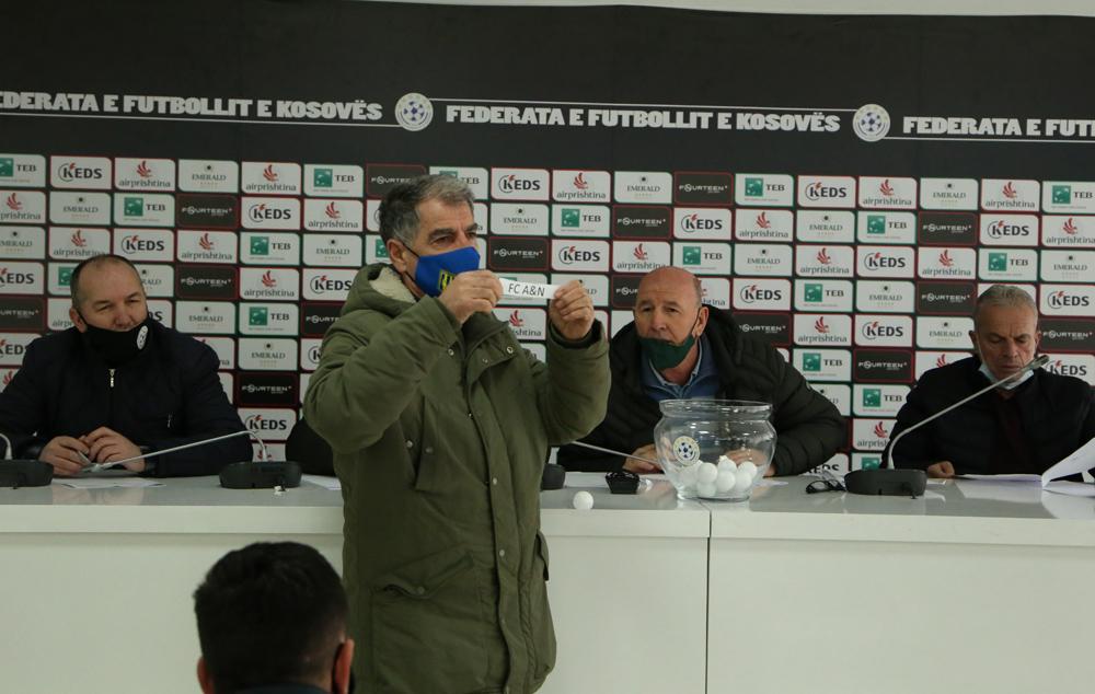 U hodh shorti për 1/8 e finales së Kupës së Kosovës
