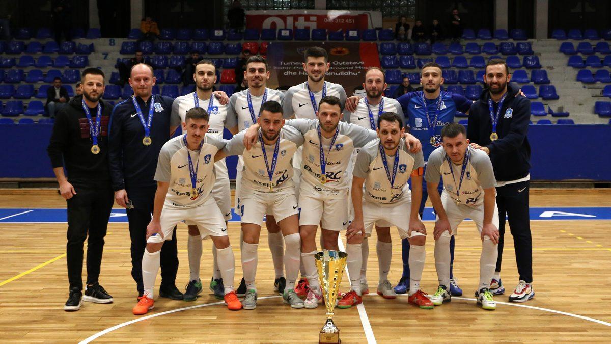 Prishtina fituese e Kupës së Qyteteve në futsall