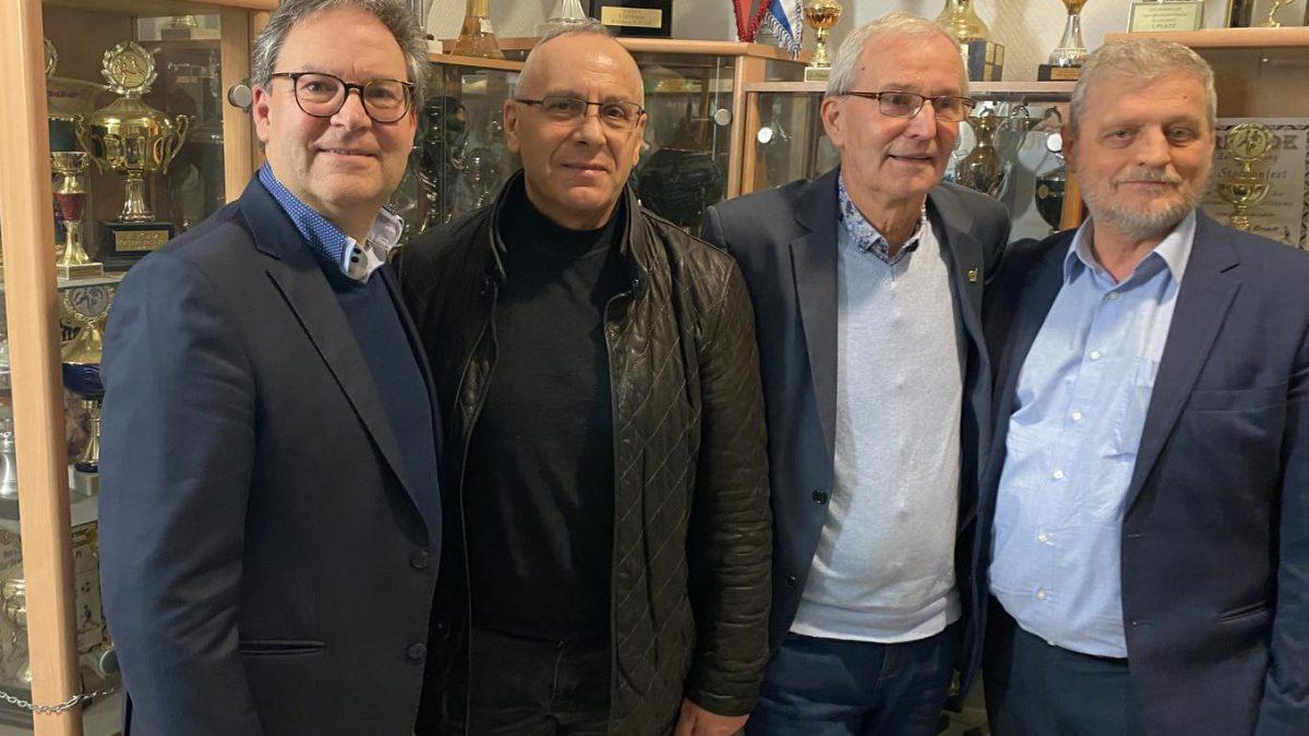 Presidenti Ademi takoi zëvendëspresidentin e DFB-së, Hermann Winkler