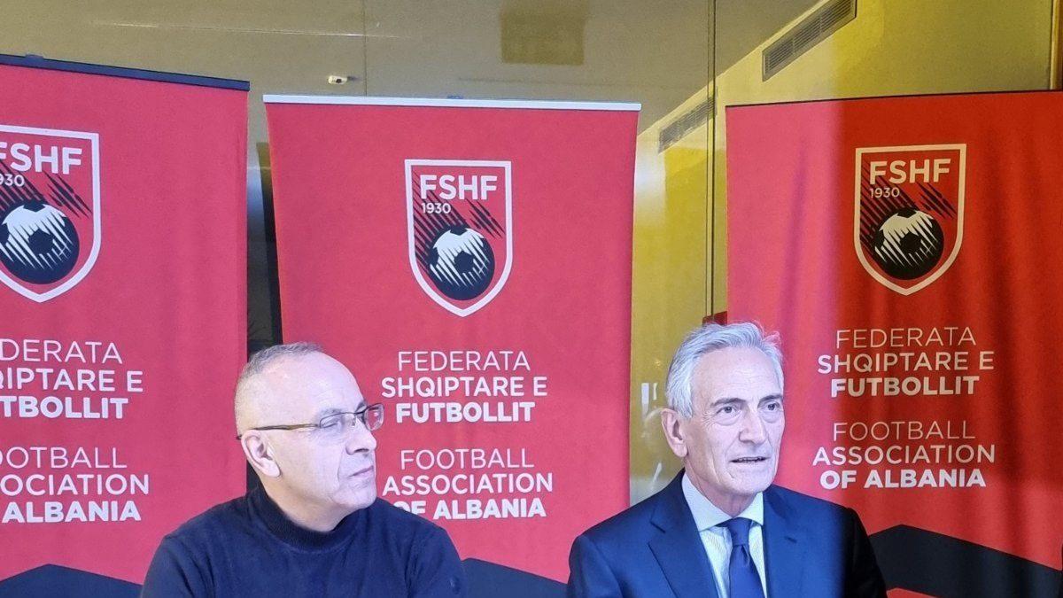 Presidenti Ademi takim me Gravinën në Tiranë