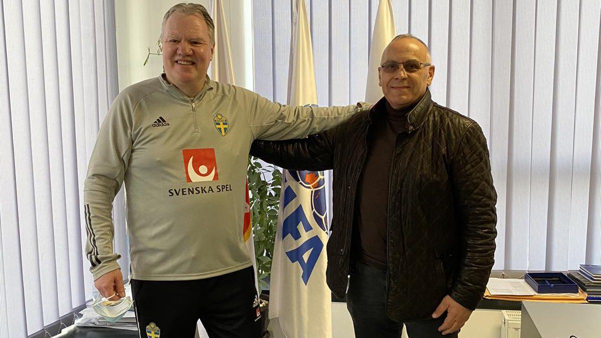Presidenti i FF të Suedisë vizitoi selinë e FFK-së dhe Kampin në Hajvali