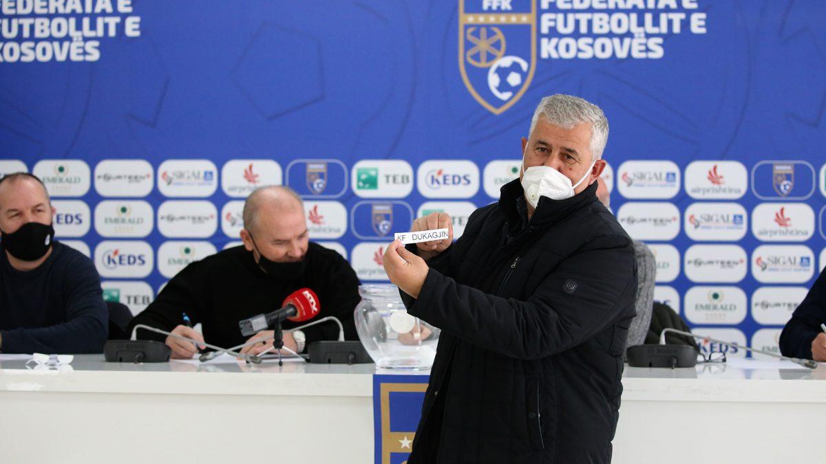 Mësohen çiftet e gjysmëfinales së Kupës së Kosovës