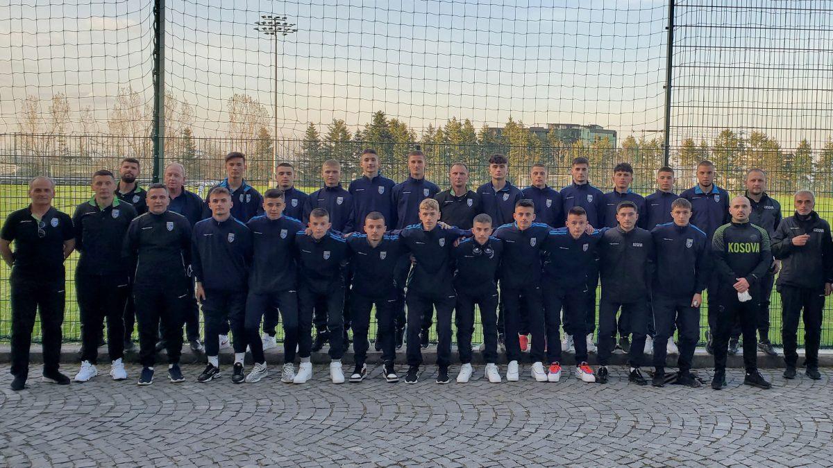 Kombëtarja U17 arrin në Sofje