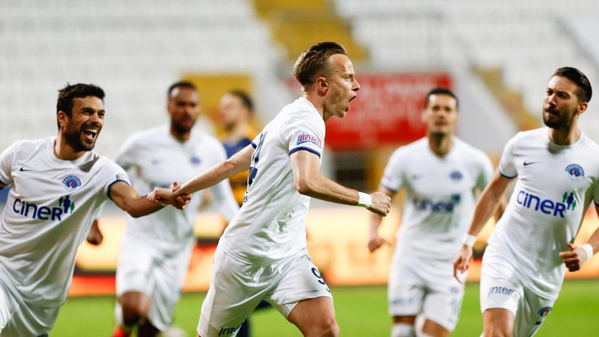 Hadërgjonaj realizoi gol në fitoren e rëndësishme të Kasimpasas