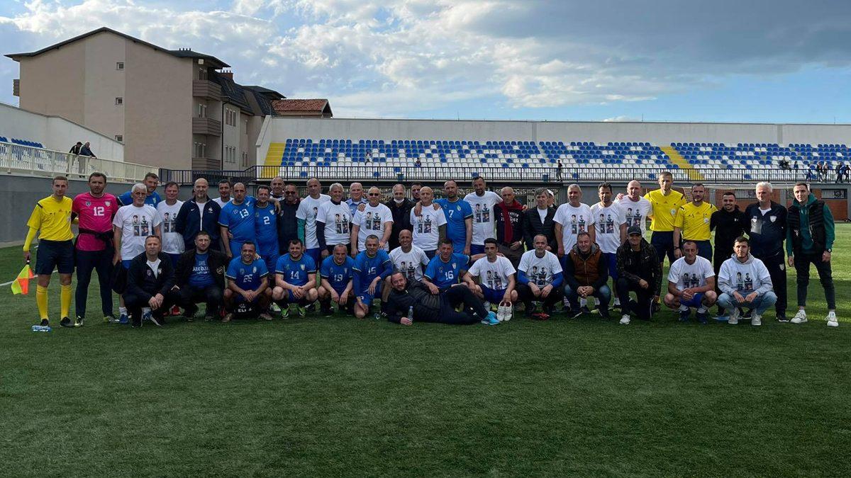 U organizua ndeshja për nder të katër dëshmorëve ish-futbollistë të Llapit